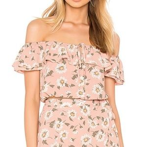 NWT Show Me Your Mumu Darla Off the Shoulder top